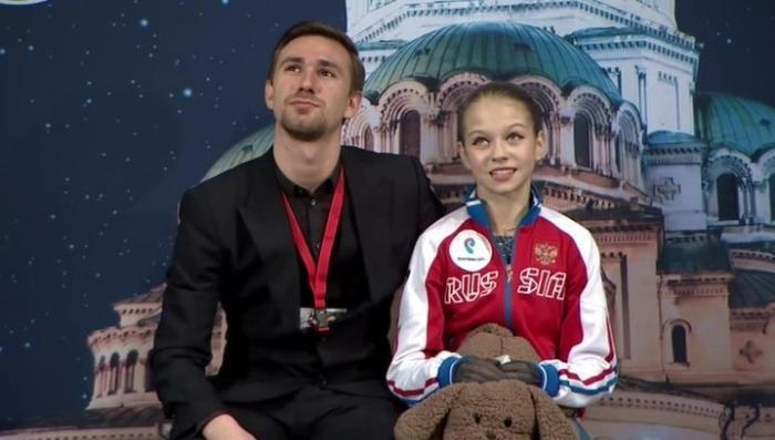 Российская фигуристка Александра Трусова поставила мировой рекорд на соревнованиях в Софии