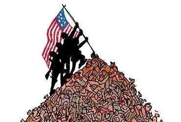 Когда бомбят США – это демократия, когда это делают другие страны – то кричат о терроризме