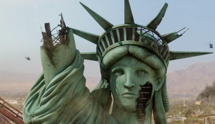 Самая страшная катастрофа США. Идол американского божества рухнул