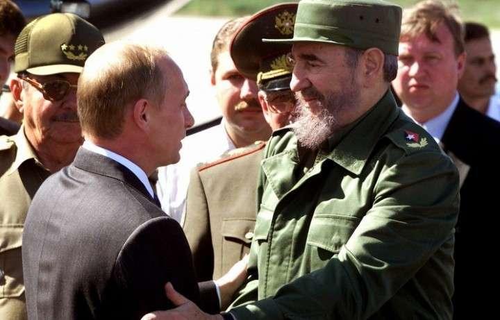 Путин — Фидель наших дней