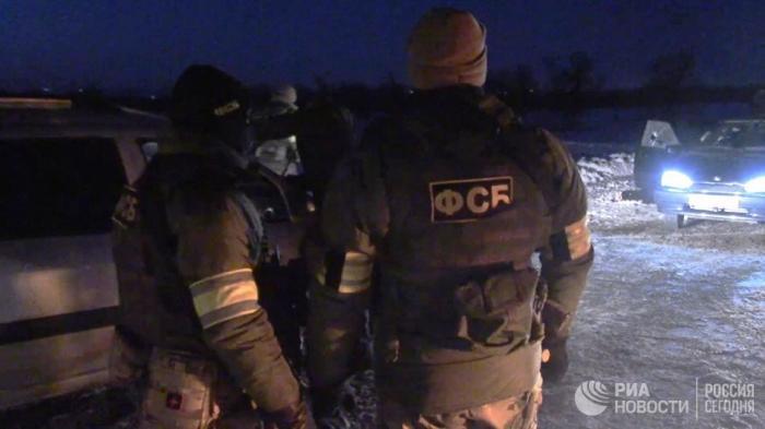 Саратовская область: ФСБ опубликовано видео с места уничтожения террористов