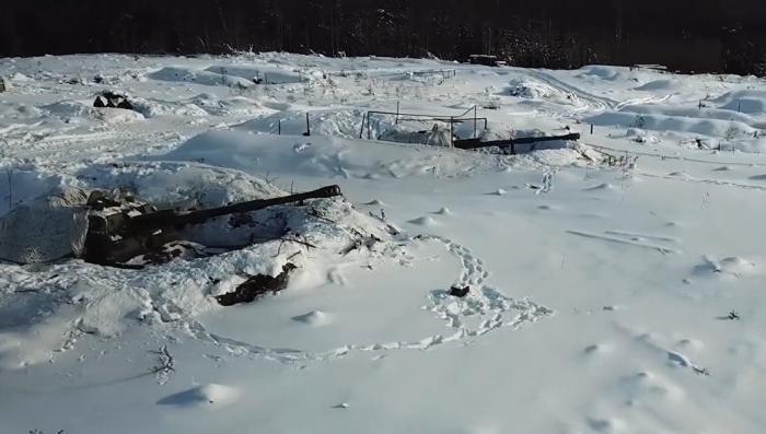 Минобороны опубликовало видео стрельб высокоточными управляемыми снарядами «Краснополь»