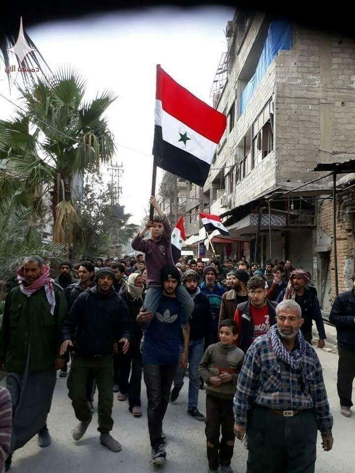 В Восточной Гуте сирийцы заметно сократили террористический анклав американских наёмников