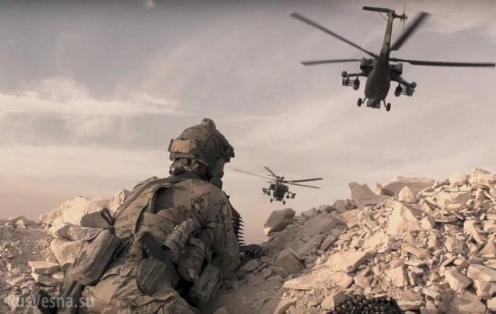 Сирия. Русский спецназовец уничтожил 14 наёмников США из ИГИЛ – реконструкция