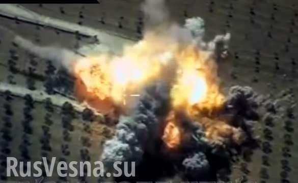 Сирия: ВКС России разнесли в труху штаб Аль-Каиды в Идлибе | Русская весна