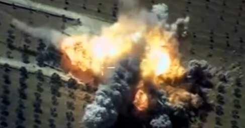 Сирия: ВКС России разнесли в труху штаб Аль-Каиды в Идлибе