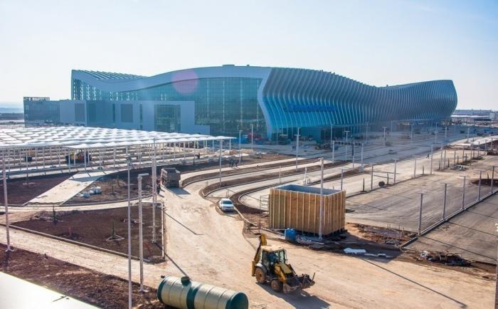 Ход строительства нового терминального комплекса аэропорта «Симферополь»