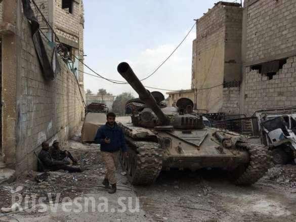 Сирия. Восточная Гута расчленена на три котла | Русская весна