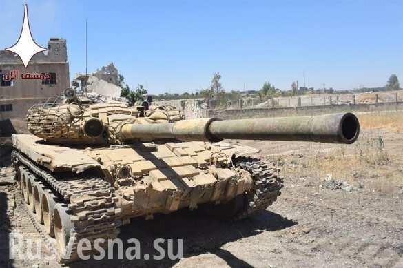 Сирия. Восточная Гута расчленена на три котла