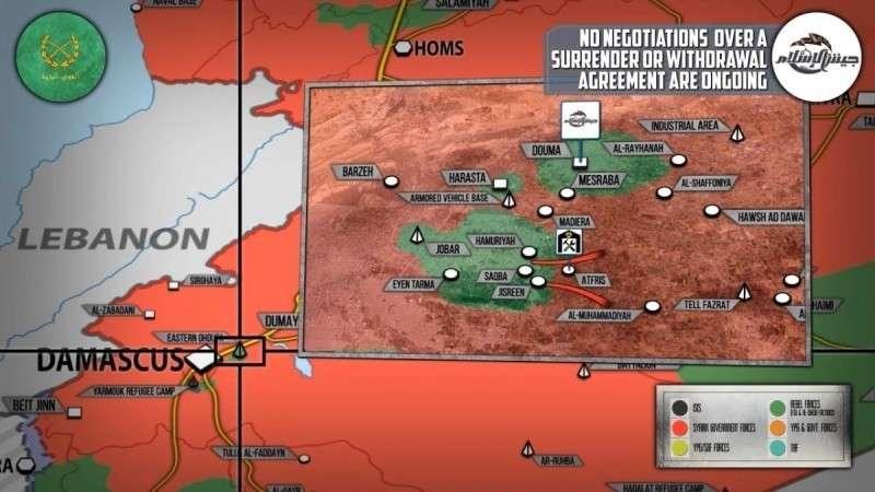 Сирия. США заявили о возможном ударе по правительству Башара Асада