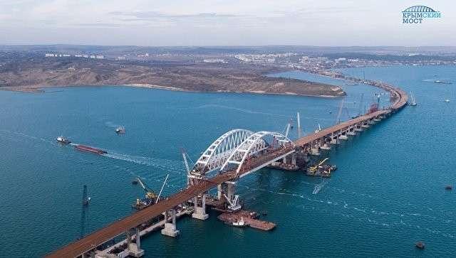 Назван срок сдачи автомобильной части Крымского моста