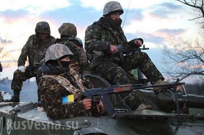 Каратели ВСУвзяли вплен несовершеннолетних жителей ЛНР