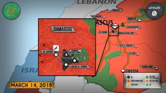Сирия. Россия готова нанести удар по силам США в любой момент