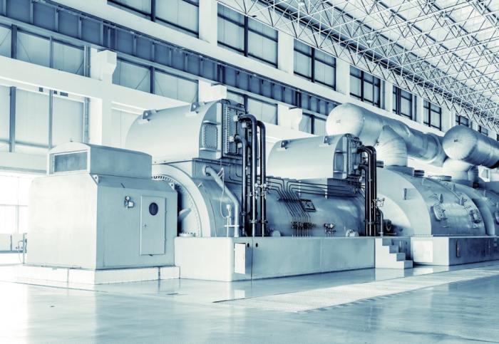 ВКрыму на Симферопольской ТЭС осуществлён первый розжиг газовой турбины
