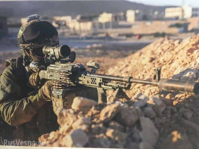 Сирия: бойцы русской ЧВК захватили главаря боевиков