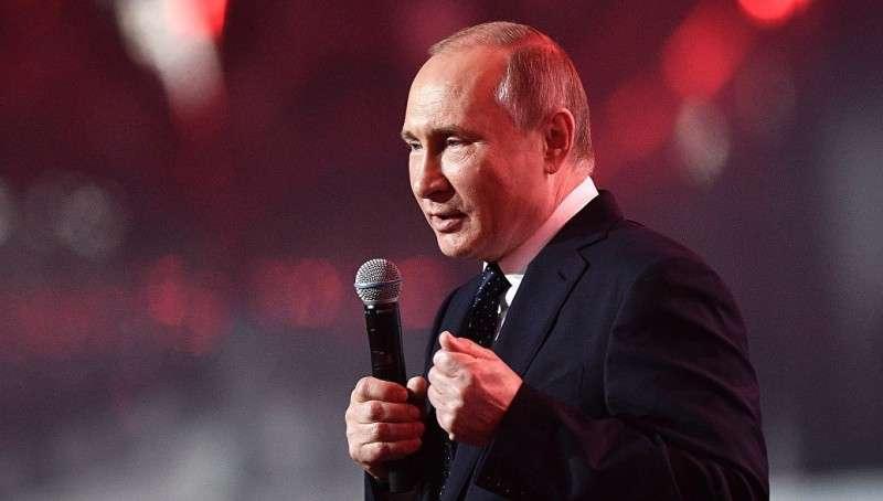 Владимир Путин призвал россиян прийти на выборы
