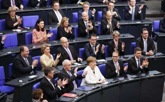 На фото: Ангела Меркель переизбрана канцлером Германии на четвертый срок