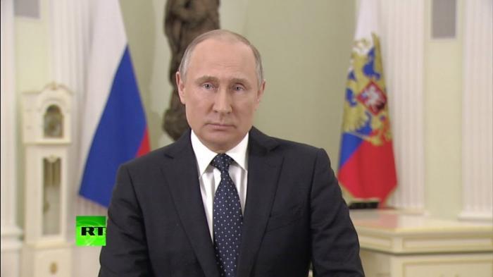 Президент обратился к россиянам перед выборами
