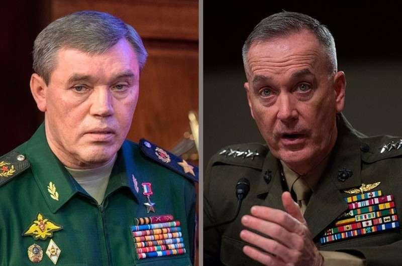 Начальник Генштаба Валерий Герасимов попытался вразумить американского генерала