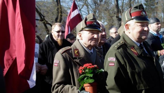 В Риге задержали антифашиста недовольного маршем местных легионеров-эсэсовцев