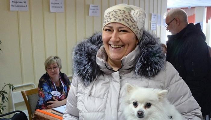Почти 70% жителей Чукотки проголосовали к середине дня