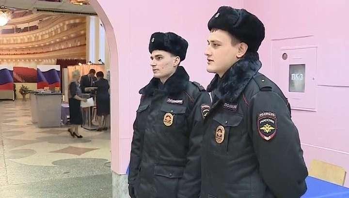 Безопасность на выборах в России обеспечивают более 500 тысяч человек