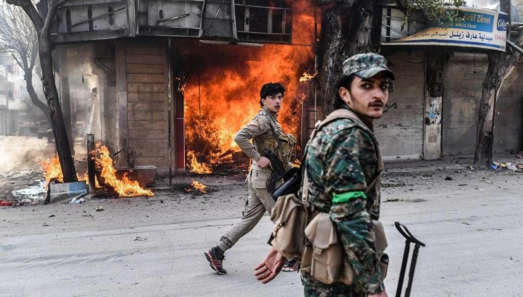 Сирия: Турция заявила о взятии Африна. Дамаск решительно осудил агрессию