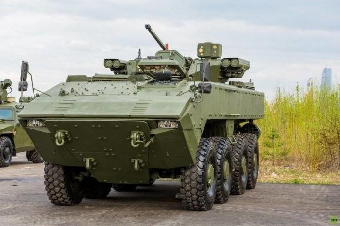 К-16 – БТР нового поколения на базе платформы «Бумеранг» приступил к испытаниям