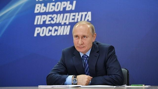 Предварительные итоги выборов президента России: В. Путин лидирует, более 70% голосов