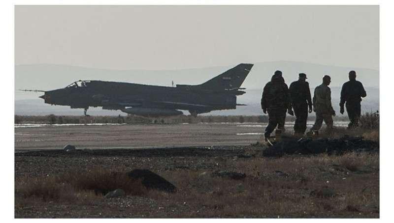 Сирия: сбит Су-24 правительственной армии