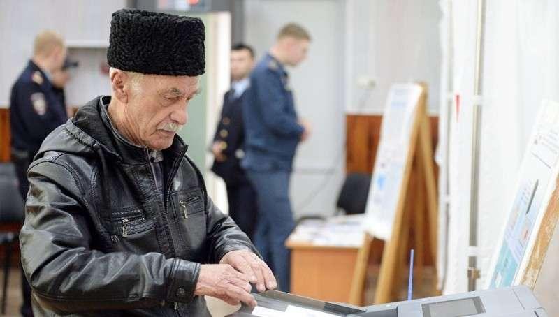 Выборы в Крыму: Владимир Путин набирает рекордные 92%