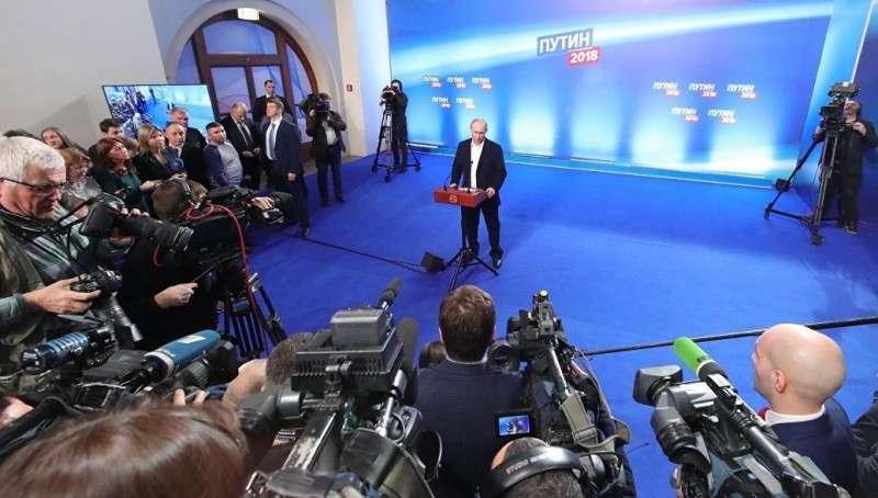 ЦИК: после обработки 99% протоколов Владимир Путин набирает 76,67%