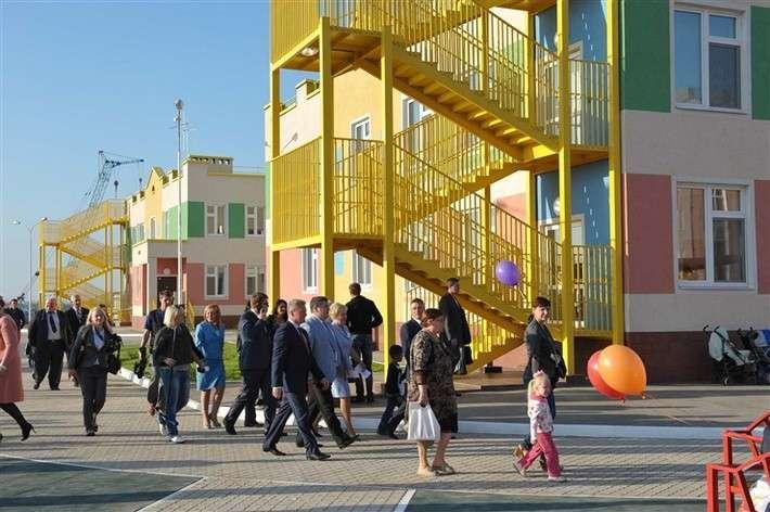 В жилом микрорайоне Южный город Самарской области открылся первый детский сад