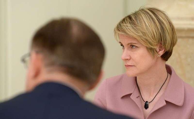Сопредседатель избирательного штаба Владимира Путина, руководитель Фонда «Талант иуспех»Елена Шмелёва.