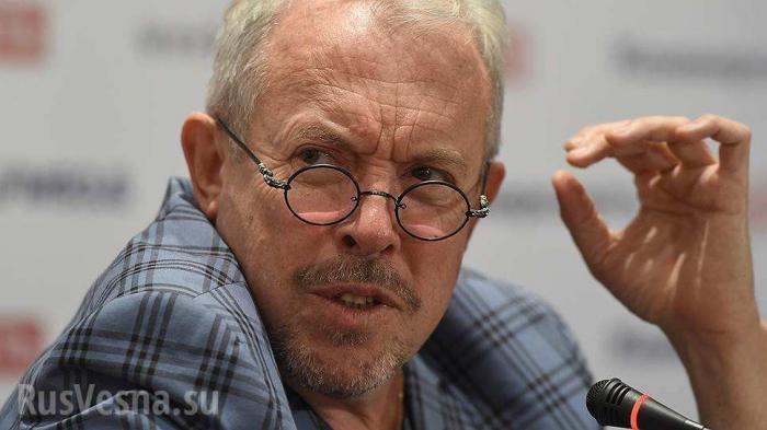 Жид Макаревич упорствует в заблуждении: «Поднялась волна говна»