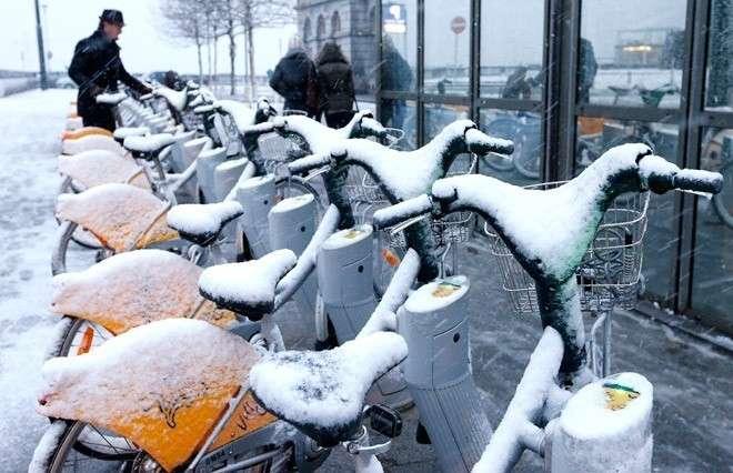 В Европу вновь вернулась русская зима
