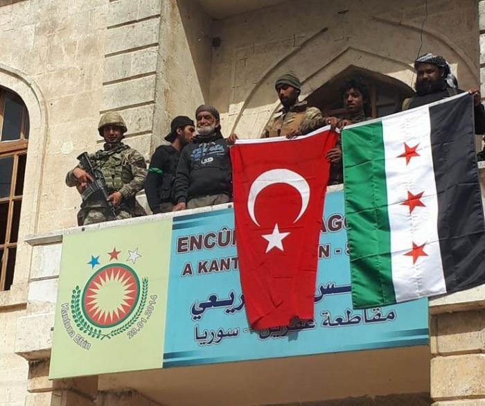 Сирия потребовала от Турции убраться из оккупированного ею Африна