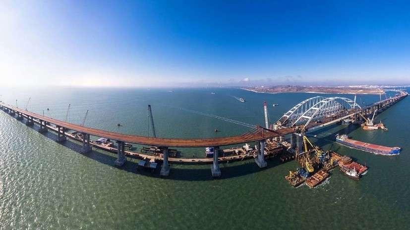 Крымский мост будет готов к открытию «со значительным опережением»