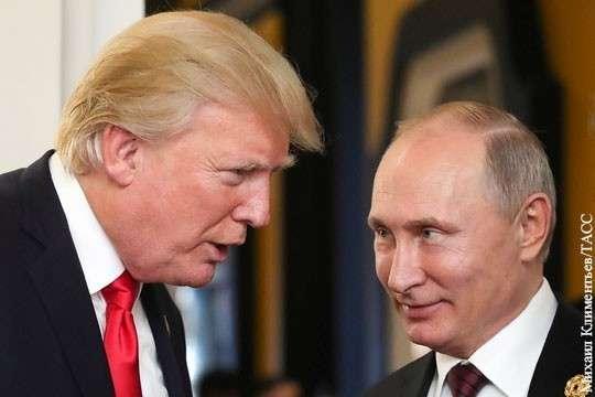 Дональд Трамп всё же поздравил Владимира Путина с победой на выборах