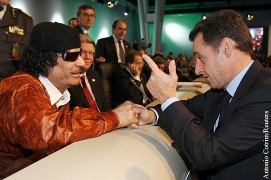 Каддафи отомстил Саркози даже с того света