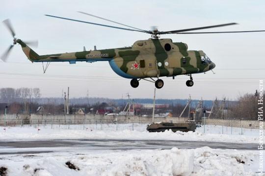 Новейшие русские вертолеты РЭБ переброшены в Сирию