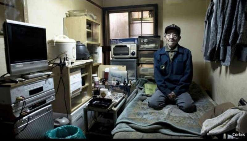 В Японии – старики массово воруют, надеясь попасть в тюрьму чтобы выжить