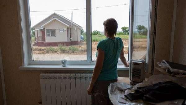 Cтроительство домов для пострадавших от паводка в Амурской области Cтроительство домов для пострадавших от паводка в Амурской области
