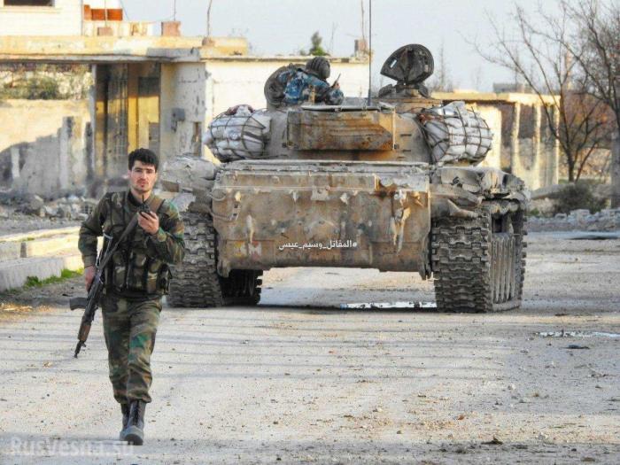 Котёл в Восточной Гуте: армия Сирии и ВКС России освобождают район за районом