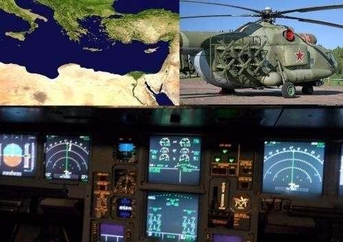 Россия своими «Рычагами» из Сирии остановила всю навигацию в Средиземном море
