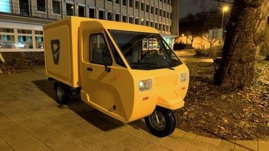 В России создали сверхдешёвый трехколесный грузовичок «Шмель»