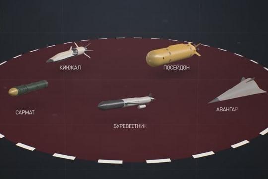 Посейдон, Буревестник и другие новейшие русские вооружения