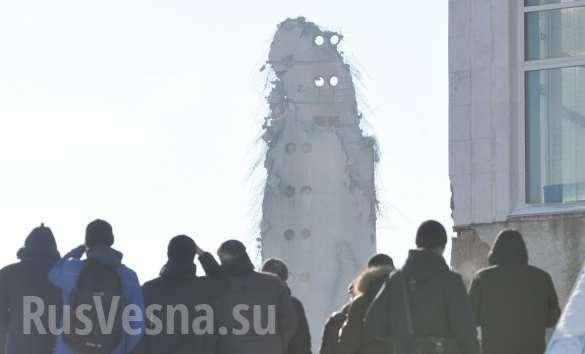 Екатеринбург. Взорвана историческая телебашня | Русская весна
