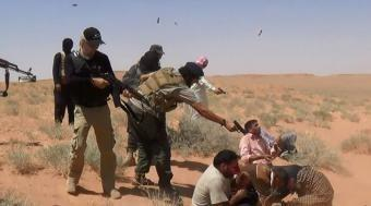 Американские террористы расстреляли 16 иностранных «военспецов», уходя из Восточной Гуты