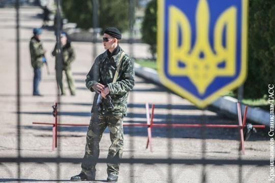 Украина: на западной границе назревает новая АТО